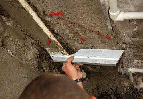 Как правильно штукатурить стену цементным раствором из пеноблока керамзитобетон цена с доставкой в москве